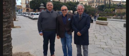 Maurizio Calà, Alfio Giulio e Antonino Toscano.