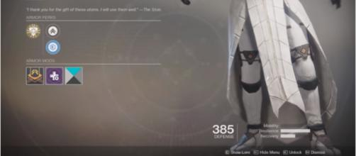 The Warlock Exotic leg armor and the Titan ability have been nerfed according to PAX attendees. [Image source: Ehroar/YouTube]