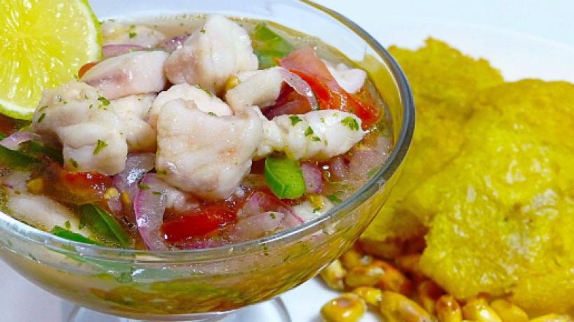 Ceviche de atún, entre las mejores recetas de Ecuador