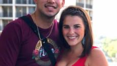 Javi Marroquin's former fiancé Lauren Comeau returns home after he's accused of cheating