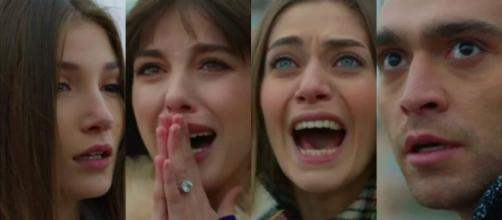 Bitter Sweet anticipazioni puntate finali: Nazli, Fatos e Deniz in ansia per il suicidio di Asuman.