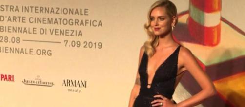 """Chiara Ferragni ieri sera alla Mostra del Cinema dei Venezia alla prima del film su di lei: """"E' stato un sogno""""."""