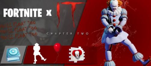 The first teaser for the 'Fortnite' & 'IT' collaboration has