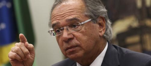 Guedes falou sobre polêmicas envolvendo Bolsonaro. (José Cruz/Agência Brasil)