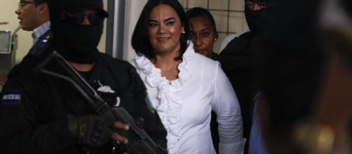 Honduras' ex-first lady convicted of fraud, embezzlement (Image via ABCNews/Youtube screencap)