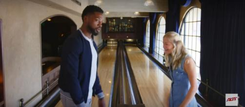 Season 12's Preacher Lawson and Darci Lynne Farmer from 'America's Got Talent' have fun between vote to the finals. [Image source: AGT/YouTube]