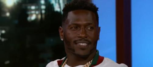 The Steelers traded Brown to the Raiders in the offseason (Image Credit:Jimmy Kimmel Live/YouTube)