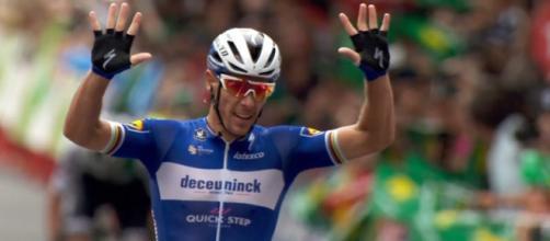 Vuelta Espana, la vittoria di Philippe Gilbert a Bilbao