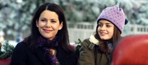 A série narra a convivência de Lorelay Gilmore e sua filha adolescente. (Foto: Netflix/Divulgação)
