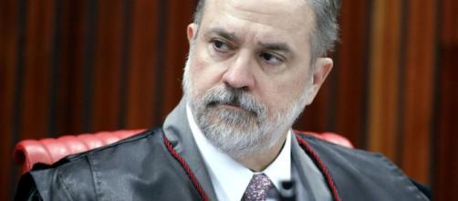 Augusto Aras foi a indicação de Bolsonaro na PGR, ele não estava na lista tríplice. (Roberto Jayme/TSE)