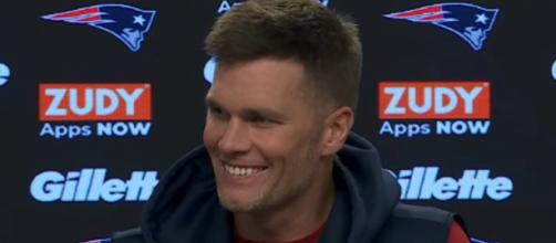 Brady is all smiles ahead of their showdown against Steelers (Image Credit: New England Patriots/YouTube)