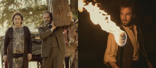 Il Segreto, spoiler: Raimundo e Francisca lasciano la Villa, Fernando dà fuoco alle case