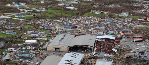 La devastazione dell'uragano Dorian - Foto: TgCom24.