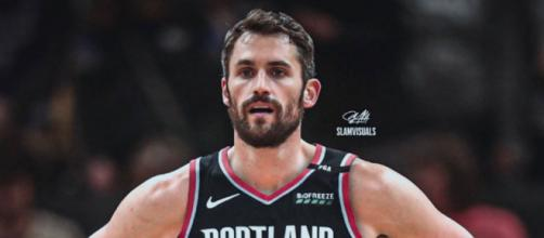 Kevin Love has been rumored as a potential target for the Blazers – (Image Credit: SlamVisual/Instagram Photos)