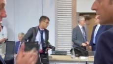 Vídeo flagra Macron reclamando de Bolsonaro
