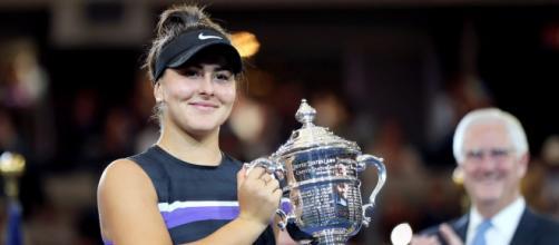 Andreescu dio el gran golpe en la final femenil del US Open 2019. - telegraph.co.uk