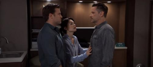 Peter might double-cross Shiloh before murdering him. [Image source: General Hospital/YouTube]