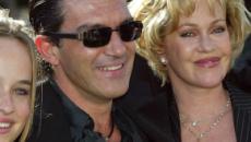 Dakota Johnson se reencuentra con Antonio Banderas, su antiguo padrastro