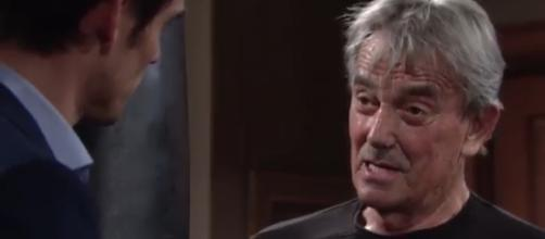 Adam has gone too far with Victor. [Image Source: The Young and the Restless/YouTube]
