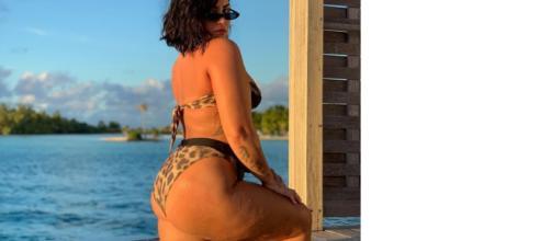 Demi Lovato luce su celulitis en Instagram