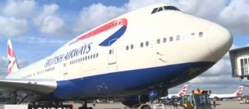 Flights cancelled as British Airways pilots stage first strike. [Image source/The Star Online YouTube video]