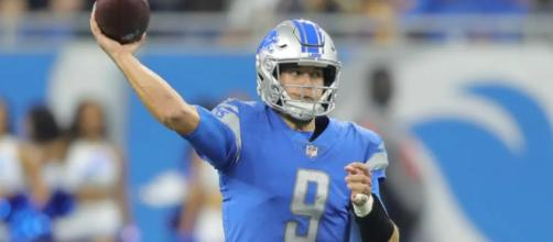 Matthew Stafford threw three touchdown passes in Week 1. [Image Source: detroitlions.com]