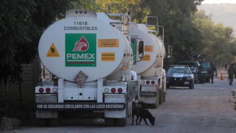 Petróleos de México asegura que robo de combustible sigue en aumento