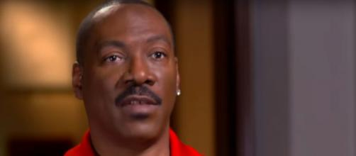 Eddie Murphy takes a pause during his recent career milestones to talk about the power of prayer. [Image source: CBSSundayMorning-YouTube]