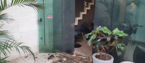 Eduardo Falzi Richard Cerquise é suspeito de autoria do atentado ao Porta dos Fundos. (Reprodução/TV Globo)