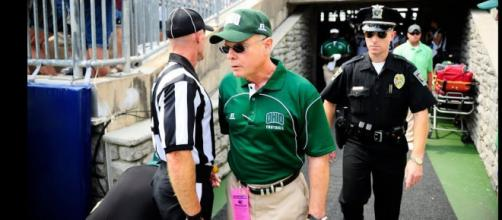 Frank Solich is among the former Huskers with a new contract [Image via OhioBobcats/YouTube]