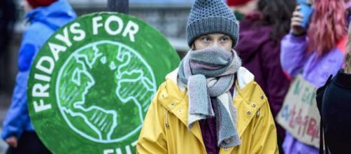 Thunberg lideró las multitudinarias protestas ambientalistas este año. - sfchronicle.com