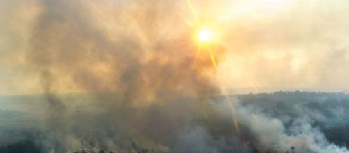 Efeito estufa é um dos principais causadores de incêndios florestais. (Arquivo Blasting News)