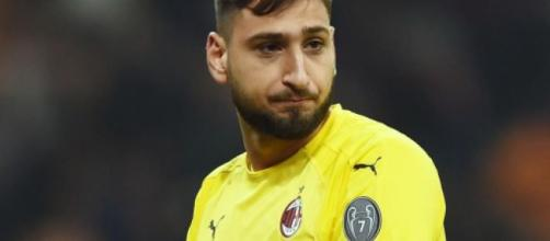 Gigio Donnarumma, portiere del Milan.