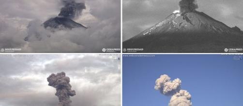Vulcão entrou em erupção no México e momento foi captado por câmeras. (Arquivo Blasting News)