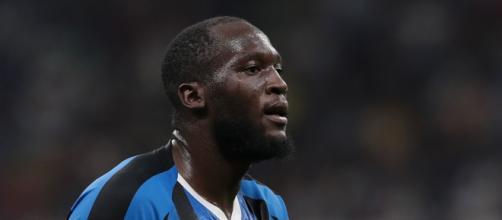 L'attaccante dell'Inter Romelu Lukaku.