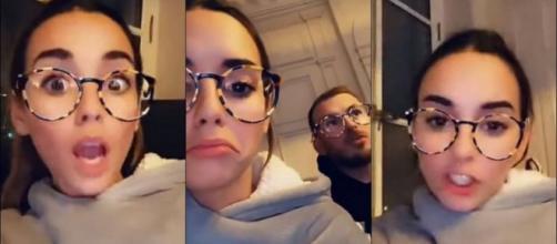 LPDLA7 : Hilona pète un câble sur Julien Bert après avoir visionné les épisodes. Snapchat : Hilona