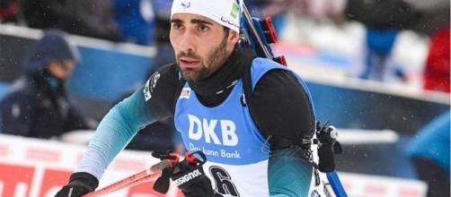 Martin Fourcade remporte le sprint d'Oberhof (Crédit : Twitter Ouest France)