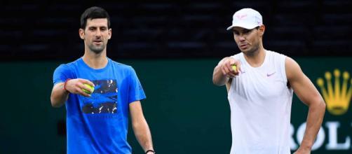 Nole Djokovic e Rafa Nadal: Serbia e Spagna si contenderanno la Atp Cup
