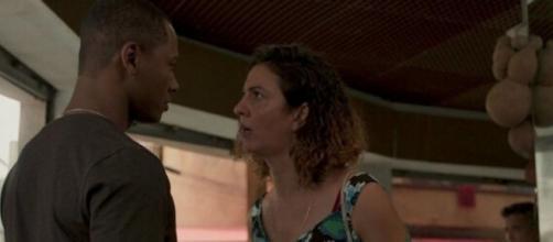 Penha ficará viúva em 'Amor de Mãe'. (Reprodução/TV Globo)