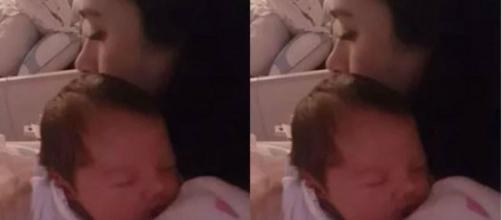 Tatá Werneck compartilha momento íntimo com a filha. (Reprodução/Instagram/@tataweneck)