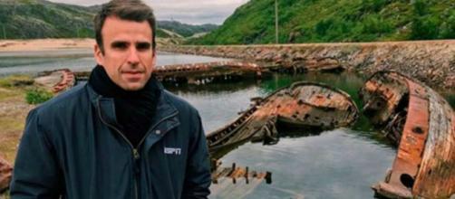 Jornalista passeava com a família no litoral. (Arquivo Pessoal)