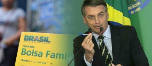 O presidente Jair Bolsonaro estuda uma restruturação para o programa social. (Arquivo Blasting News)
