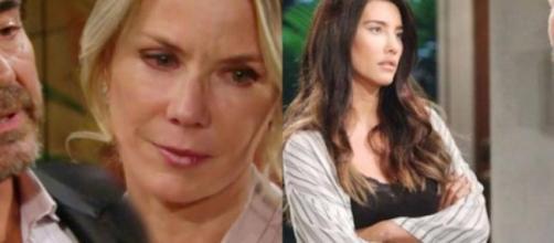 Beautiful, spoiler Usa, Brooke apprende dei baci tra Shauna e Ridge: è scontro con Quinn.