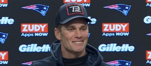 Brady said his future is the least of his concern at this point. [Image source: New England Patriots/YouTube]