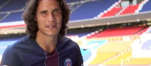 Edinson Cavani could consider a jump to the Galaxy - Image credit - PSG - Paris Saint-Germain / YouTube