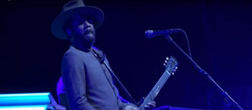 "Gary Clark Jr. took inspiration from his Texas ranch for ""This Land"" and he may take Grammy honors, too. [Image source:CBSSundayMorning-YouTube]"
