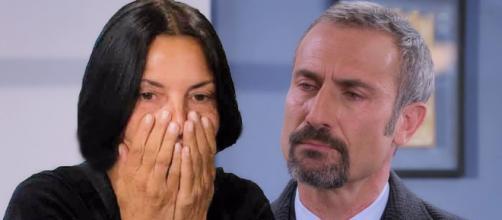 Marina (Nina Soldano) e Fabrizio Rosato (Giorgio Borghetti)