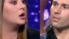 'El tiempo del descuento: Rocío Flores se enfrenta a Luca Onestini