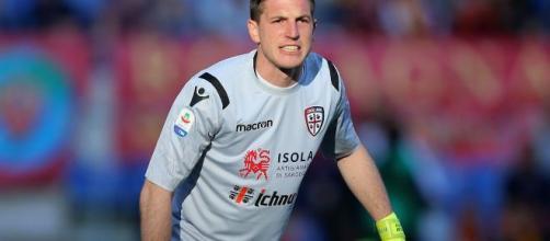 Alessio Cragno potrebbe tornare a giocare da titolare dopo l'infortunio del 7 agosto.