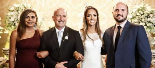Amanda era uma das convidadas do casamento de Onyx Lorenzoni. (Reprodução/Arquivo pessoal)